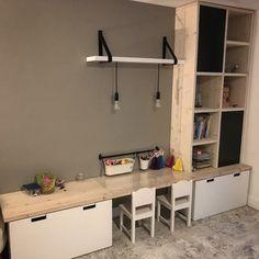 Kids Room Design, Home Office Design, Ikea Stuva, Kids Play Spaces, Baby Playroom, Toddler Rooms, Diy Interior, Boy Room, Home Living Room