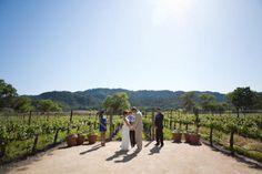 Real Weddings: Kristin & Matthew's Stress Free Napa Valley Wedding