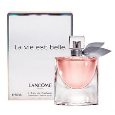 La Vie Est Belle is a new Lancome fragrance, available on the market from fall 2012. Description from shakiralicious.com. I searched for this on bing.com/images