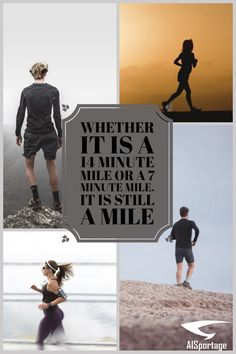 Whether it is a 14 minute mile, or a 7 minute mile, it is still a mile. Run your run, and don't worry about anything else. The wonderful thing about running is that the competition isn't with anyone other than yourself. Running Quotes, Running Motivation, Fitness Motivation, Ai Shoes, Running A Mile, Tired Eyes, Runners World, Personal Goals, Training Plan