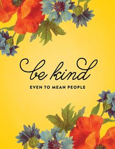 Be kind. Even to mean people ~ new prints from The Detroit Card Co. ~ www.detroitcardco.com