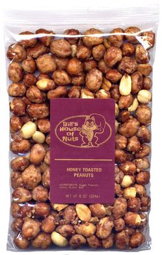 Honey Toasted Peanuts - Everyone's Favorite Nut Made Even Better with a Unique, Crunchy, and Delicately Sweet Honey Coating (8 oz) >>> A special product just for you to view. See it now! : Fresh Groceries
