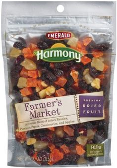 $15.63 Emerald Harmony Farmer's Market Dried Fruit, 10-Ounce Bags (Pack of 6) by Emerald Harmony, http://www.amazon.com/dp/B001RJ7D26/ref=cm_sw_r_pi_dp_rFtvqb1691TR7