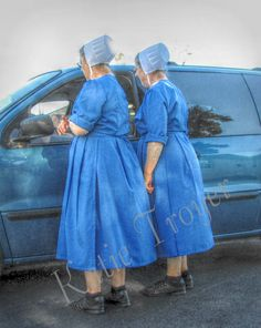 Giving directions...the Amish can give us practical directions for a simpler more fulfilling life!