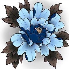 Japanese Peony Tattoo, Japanese Lotus, Japanese Sleeve Tattoos, Lotus Drawing, Peony Drawing, Flower Tattoo Designs, Flower Tattoos, Flor Oriental Tattoo, Ankle Tattoo Small