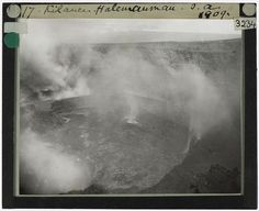 Tempest Anderson: Pioneer of Volcano Photography | The Public Domain Review
