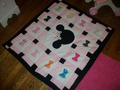 Minnie Mouse Quilt