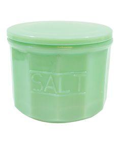 Green Milk Glass, Smart Kitchen, Kitchen Stuff, Glass Spice Jars, Jar Crafts, Glass Collection, Cellar, Spices, Chef's Choice