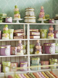 miniature* 愛しのLADUREE : natural色の生活~handmade家具