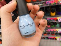 sinful colors dreamer sky blue nail polish