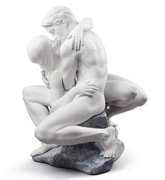 #lladro 08727 PASSIONATE KISS (WHITE) http://www.lladrofromspain.com/01pakiw.html