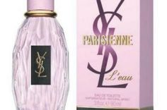 Yves Saint Laurent Parisienne L'Eau: The notes for the fruity floral include rose, green notes, vinyl accord, red fruits, cranberry, blackcurrant, patchouli, white cedar and musk.