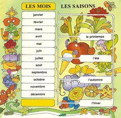 Français Langue Étrangère - A1: saisons