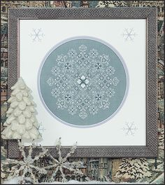 Just Nan - JN139 Ice Blossoms • Snowflake Counted Thread Cross Stitch Designs from Just Nan