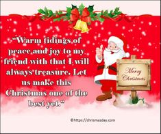 Most Shareable Christmas Love Quotes Hy friends today I am going to share some Most Shareable Christmas Love Quotes with you. If you are finding and searching for Most Shareable Christmas Love Quot… Christmas Messages For Friends, Christmas Love Quotes, Christmas Wishes Greetings, Merry Christmas Message, Christmas Blessings, Christmas Ideas, Christmas Ornaments, Best Yet, Day Wishes