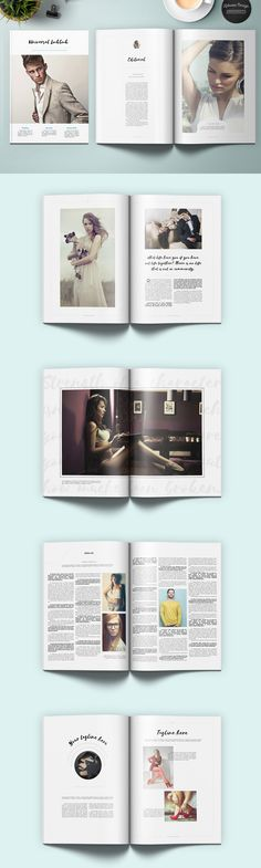 Universal Lookbook Template INDD, PDF