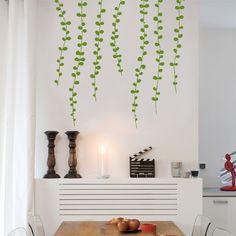 vine wall sticker Light Green