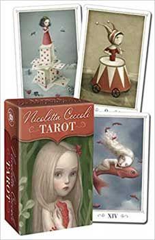 Ceccoli Tarot mini by Nicoletta Ceccoli Tarot Card Decks, Tarot Cards, Precession Of The Equinoxes, Le Tarot, Buried Treasure, Celtic Tree, Dark Night, Deck Of Cards, Stocking Stuffers
