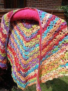 South Bay Shawlette (Crochet Shawl)