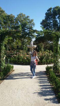 Disfrutando de los jardines del retiro. #paseico #jardines #saturday #me #enjoy