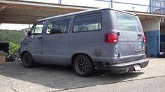 In Japan, people have modified old, rear drive Dodge vans into track-day machines. Sportsmobile Van, Sleeper Van, Dodge Ram Van, Van Racking, Cool Vans, High Top Vans, Custom Vans, Car Ford, Van Life
