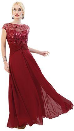Vestido Massima modelo 1588   Massima - Vestidos de noche