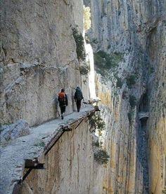 El camino del rey (king's path), spain