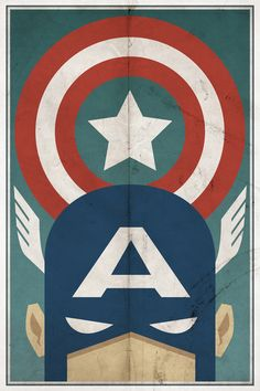 I like vintage super hero posters for a little boys room.