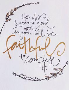 Kayton Hosket Philippians 1:6 by kgdoodles on Etsy
