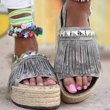 Resultado de imagen para tendencia primavera verano 2017 sandalias