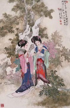 Hua Sanchuan(华三川) ,    仕女
