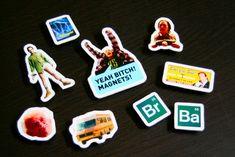 Easy DIY Breaking Bad Magnet Set - free printable