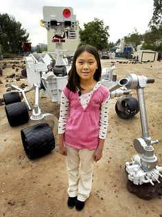 11-year-old Clara named the Mars Curiosity rover. Read her inspiring story.
