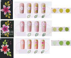 Orchid Nail: Quelques bases en décorations peinture acrylique Nail Art Modele, Les Nails, One Stroke Nails, Lines On Nails, Nail Tutorials, Manicure And Pedicure, Brush Strokes, Decoration, Nail Art Designs