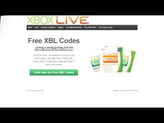 ▶ Get Free Xbox Live Codes New Method! - YouTube