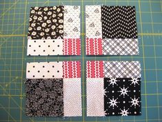 Disappearing 9-Patch Tutorial - Can't wait to make this one....it's going to be my valentine's day quilt.