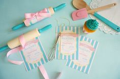 Bakery Birthday Party via Kara's Party Ideas | Party ideas, supplies, printables, desserts, invitations, activities and more! KarasPartyIdeas.com (10)
