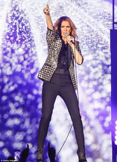 No. 4:Celine Dion, 49, came in fourth with $42 million, resuming her Las Vegas residency ... Celine Dion, Women In Music, Trouser Pants, Las Vegas, Tops, Fashion, Moda, Fashion Styles, Last Vegas