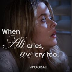 """S5 Ep8 """"Scream for Me"""" - When Ali cries, we cry. #PLL"""
