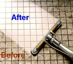 Discover the best ways of cleaning grout lines between tiles on the floors, in the bathroom, shower and kitchen - soft natural remedies, bleaches.