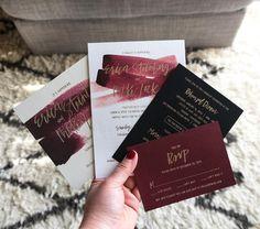 232 Likes, 54 Comments - Alex Choura ( Cheap Wedding Invitations, Wedding Stationary, Wedding Invitation Cards, Wedding Cards, Maroon Wedding, Our Wedding, Dream Wedding, Trendy Wedding, Wedding Shoes
