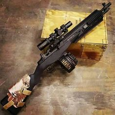 Airsoft hub is a social network that connects people with a passion for airsoft. Talk about the latest airsoft guns, tactical gear or simply share with others on this network Airsoft Guns, Weapons Guns, Guns And Ammo, Battle Rifle, Custom Guns, Cool Guns, Assault Rifle, Military Weapons, Revolver