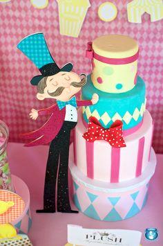 I like the girly circus theme