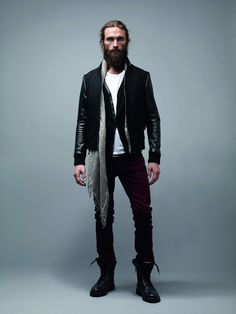 models with beards | French fashion house shows you some style... in Bearded Lifestyles ...