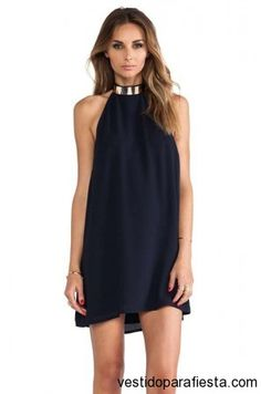 keepsake Reckless Mini Dress in Ink Blue Cute Dresses, Beautiful Dresses, Casual Dresses, Short Dresses, Elegant Dresses, Mini Dresses, Formal Dresses, Vestidos Halter, Dress Outfits