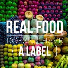 No labels. One ingredient.