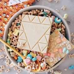 CEREAL BOWL White Chocolate / Cereal - Chocolate Bar - Compartes Chocolatier Gourmet Chocolate - 1