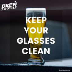 We all enjoy a good beer, whether it's a nice crisp pilsner, a hoppy IPA or a dark indulgent stout, but a sure-fire way of killing a good beer is by pouring it into a dirty glass.  So, if you want your beer to pour well, to give it the best chance possible of developing a good head and retaining its drinkability to the last drop, then give it the appreciation it deserves, a clean glass. The Last Drop, Best Beer, Home Brewing, Ipa, Pint Glass, Crisp, Appreciation, Good Things, Cleaning