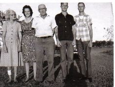 granny mom grandpa uncle amos and uncle joe
