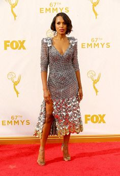 Kerry Washington   All The Looks From The 2015 Emmy Awards